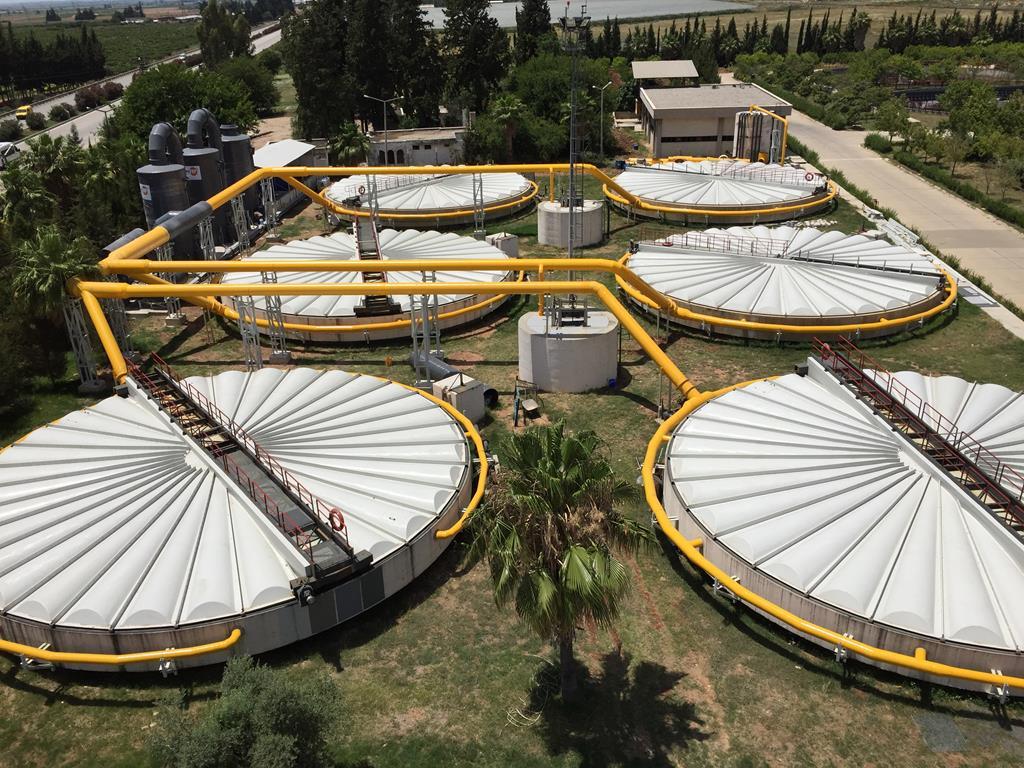 ADANA Hacı Sabancı OSB Evsel ve Endüstriyel AAT Koku Kontrol Sistemi